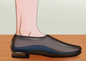 سایز پای خود