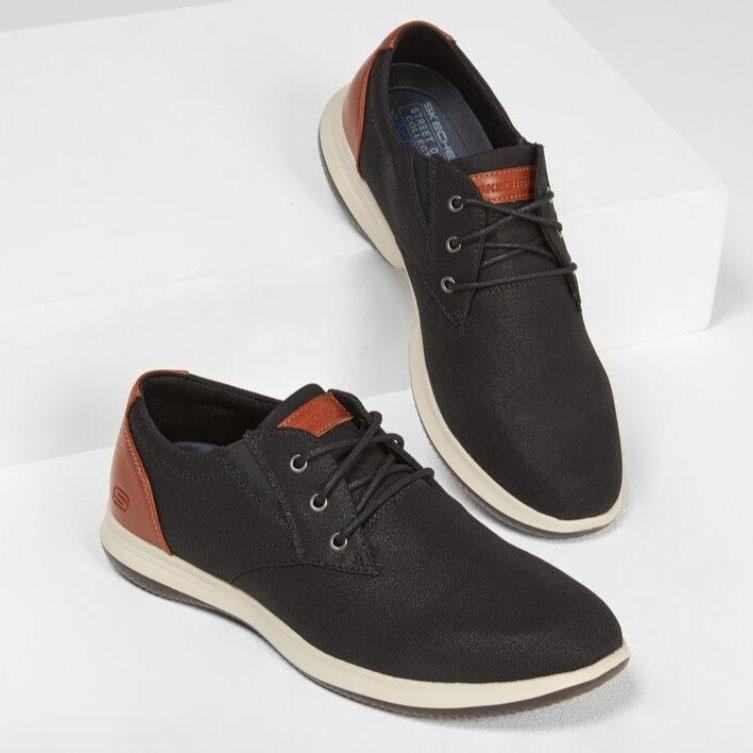 کفش اسکچرز مردانه کد Skechers BLK 204092 | اسکچرز اورجینال
