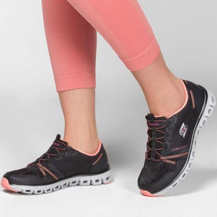 کفش اسکچرز زنانه کد skechers BKCL 104085 | اسکچرز اورجینال